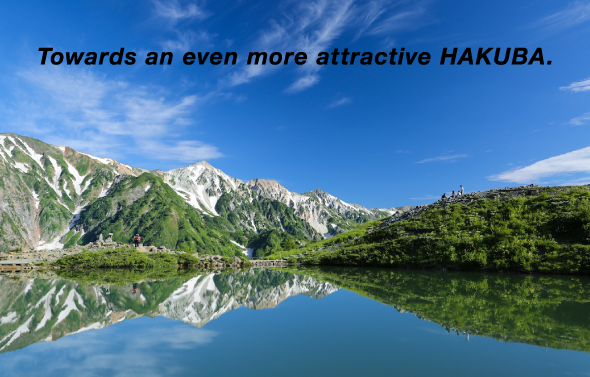 Towards an even more attractive HAKUBA.